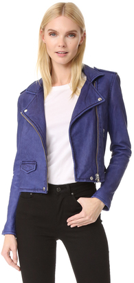 IRO Ashville Leather Jacket $1,200 thestylecure.com