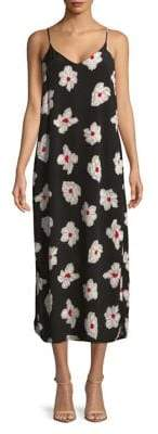 Vero Moda Sleeveless Floral Maxi Dress