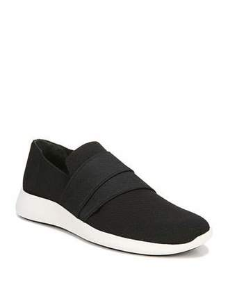 Vince Aston Solid Knit Fabric Slip-On Sneakers