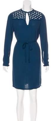 Diane von Furstenberg Bernadette Crepe Dress