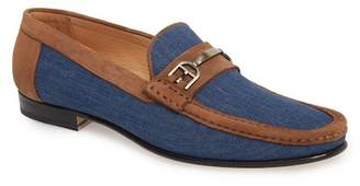 Mezlan Jason Two-Tone Bit Loafer