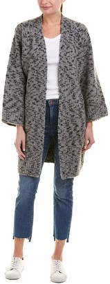 Vince Textured Wool-Blend Cardigan