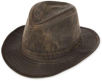 JCPenney INDIANA JONES Indiana Jones Weathered Cotton-Blend Fedora Hat