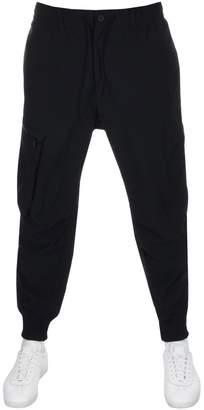 Y3 Twill Cargo Trousers Black