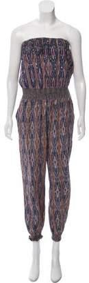 Calypso Strapless Printed Jumpsuit