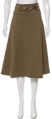 Celine A-Line Midi Skirt