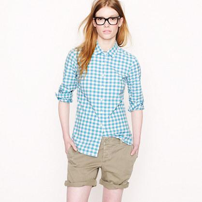 J.Crew Perfect shirt in medium gingham