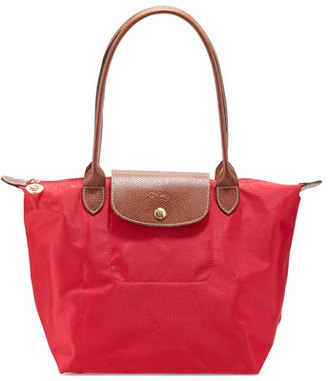 Longchamp Le Pliage Medium Shoulder Tote Bag, Red Garance $125 thestylecure.com