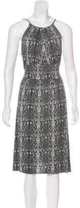 Marc by Marc Jacobs Animal Print Knee-Length Dress