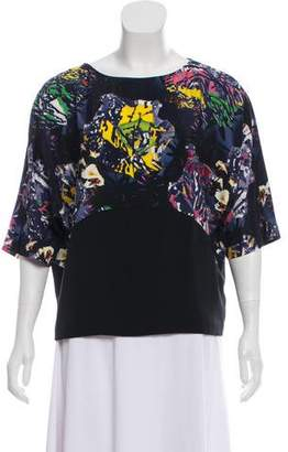 Zero Maria Cornejo Silk Paneled Top w/ Tags