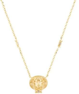 Tagliamonte 18K Diamond-Accented Medusa Pendant Necklace