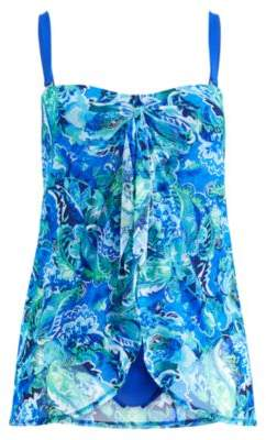 Ralph Lauren Paisley One-Piece Swimsuit Blue Multi 20