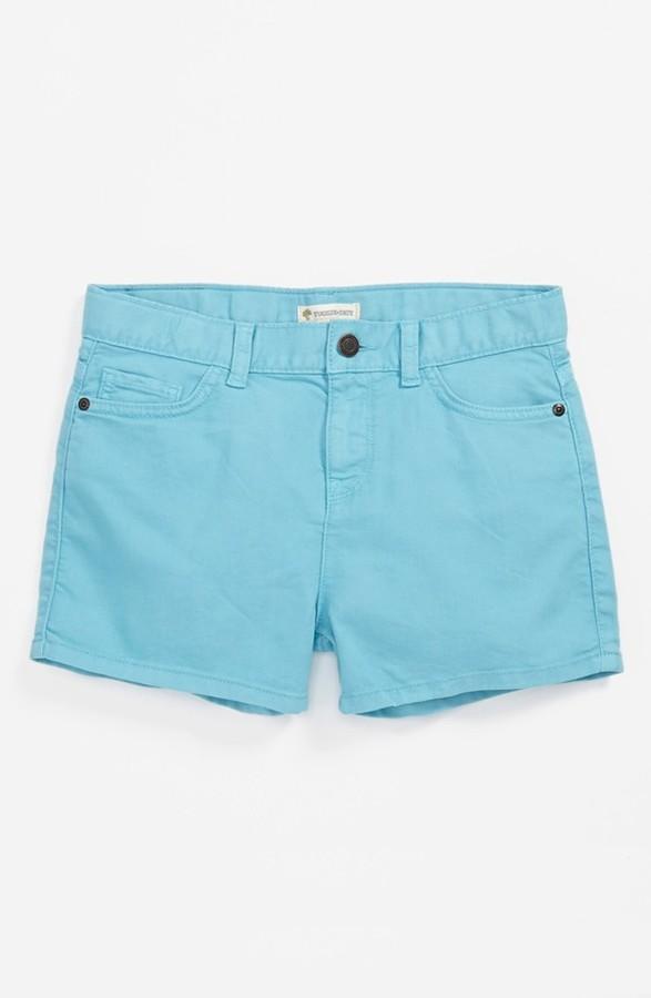 Tucker + Tate + Tate 'Abbie' Denim Shorts (Big Girls)