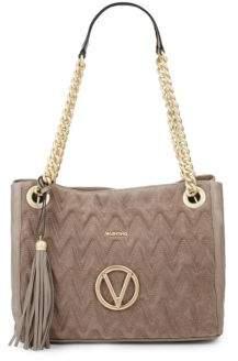 Designed Leather Shoulder Bag