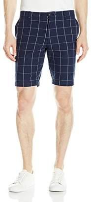 Lacoste Men's Windowpane Check Bermuda Short