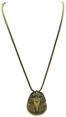 One Kings Lane Vintage Egyptian Revival Necklace - Eisenberg - Thanks for the Memories