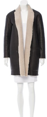 CelineCéline Reversible Shearling Coat