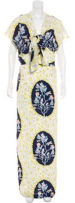 Chris Benz Silk Maxi Dress