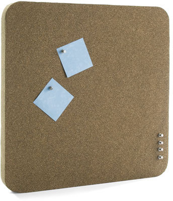 Thork Thick Cork Board by Umbra