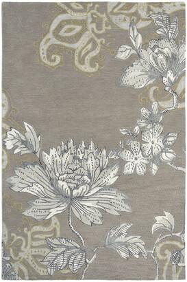 Wedgwood Unitex International Fabled Floral Rug Grey