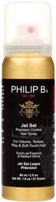 Philip B Women's Jet Set Precision Control Hair Spray $20 thestylecure.com