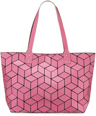 Patrizia Luca Geometric Tiled Large Tote Bag