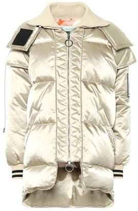 Off-White Oversized puffer coat