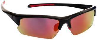 Trespass Adults Unisex Falconpro Red Mirror Sunglasses