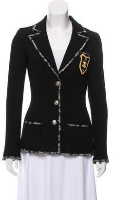 Chanel Embellished Wool Blazer