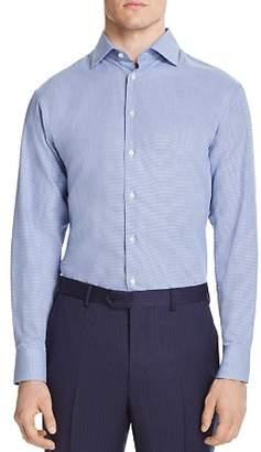 Giorgio Armani Micro-Zigzag Classic Fit Dress Shirt