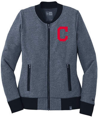 New Era Women Cleveland Indians French Terry Full-Zip Jacket