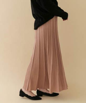 ITEMS ランダムリブニットスカート