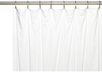 Ben and Jonah Vinyl 5 Gauge Shower Curtain Liner with Metal Grommets