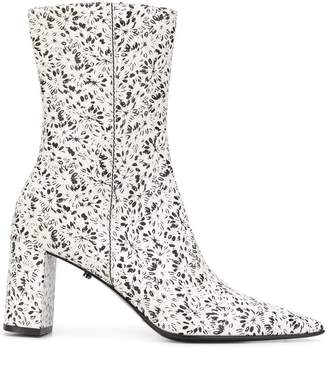 Schumacher Dorothee Floral Fusion printed boots