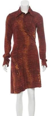 Diane von Furstenberg Silk Money Penny Dress