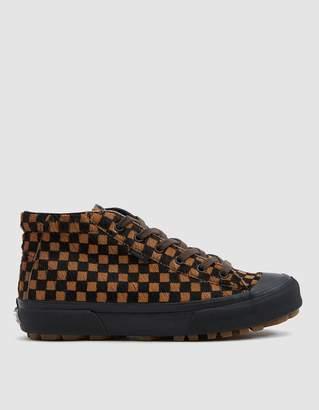 Vans Vault By OG G.I LX Pony Hair Checkerboard Sneaker