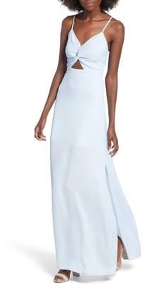 Dee Elly Twist Front Maxi Dress