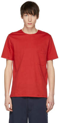 Lemaire Red Pocket T-Shirt