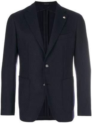 Tagliatore textured blazer