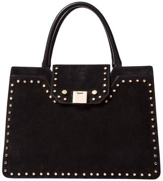 Jimmy Choo Handbag Rebel Tote Handbag With Metal Studs And Double Handles