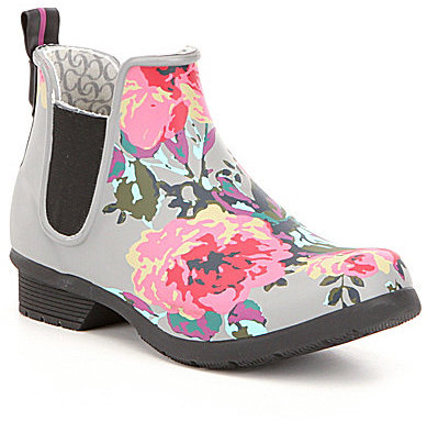 ChookaChooka Chelsea Alice Floral Print Rain Boots