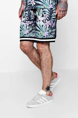 boohoo Floral All Over Print Mid Length Short