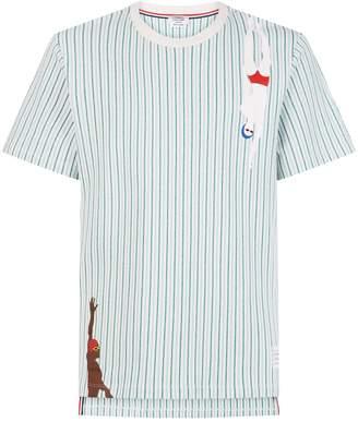 Thom Browne Swimmer Striped T-Shirt