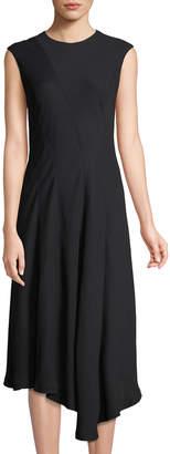 Lafayette 148 New York Aveena Cap-Sleeve Dress