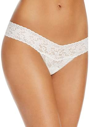 Hanky Panky Pearl & Bow Signature Lace Thong