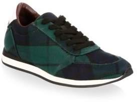 Burberry Tartan Low-Top Sneakers
