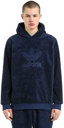 adidas Winterized Plush Sweatshirt Hoodie