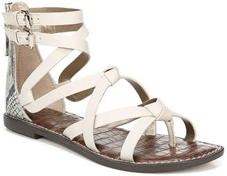 3c08ed1fd Sam Edelman White Gladiator Women s Sandals - ShopStyle