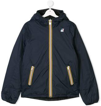 K Way Kids lightweight hooded jacket