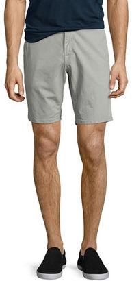 Joe's Jeans Brixton Canvas Trouser Shorts $158 thestylecure.com